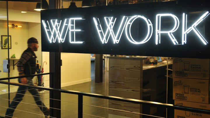 WeWork Celebrates Losing $1.6 Billion by Going Public