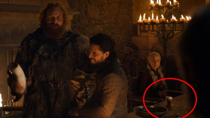 The 'GoT' Creators Finally Explained How That Coffee Cup Got There
