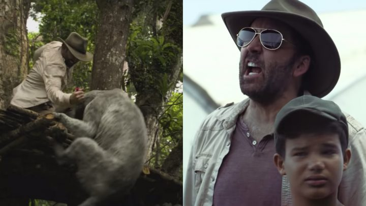 Watch Nic Cage Go Full Nic Cage in the Trailer for 'Primal'