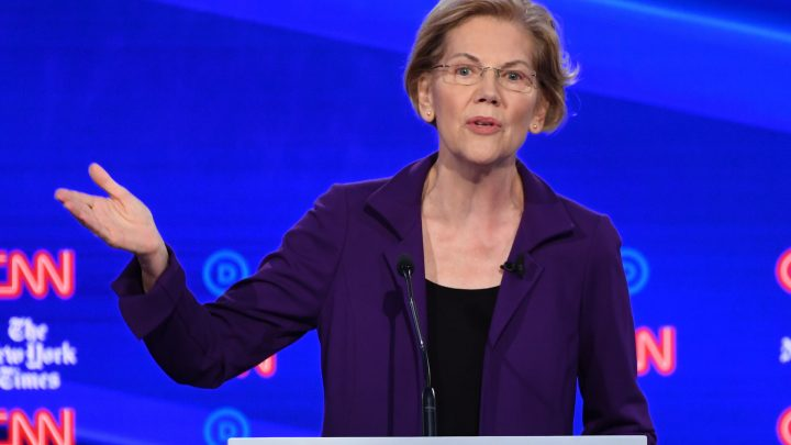 Elizabeth Warren Won't Say the Word 'Taxes' When She Talks About Medicare for All