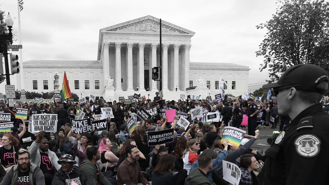 What Went On at the Most Important SCOTUS Cases in LGBTQ Rights This Year
