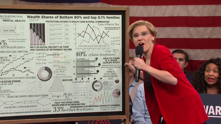 Kate McKinnon's Elizabeth Warren Was the Best Part of 'SNL' Again