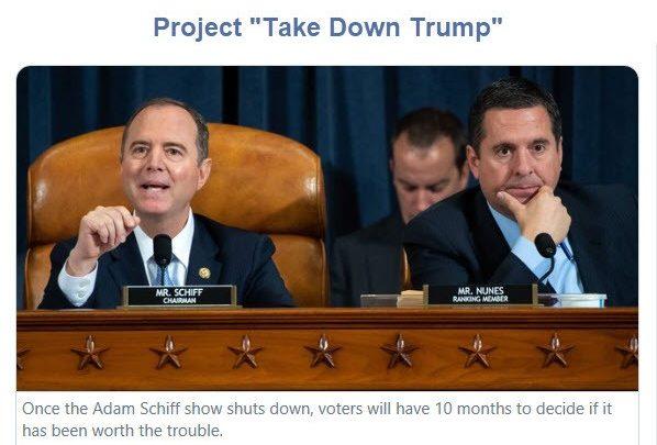 Democrat Impeachment Star Witnesses Useful as Dust