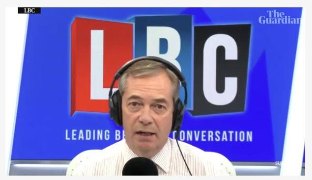 """Video: Trump Tells Nigel Farage """"Corbyn Would Be So Bad"""""""