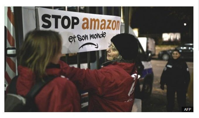 Amazon Hit by Walkouts and Black Friday Protests