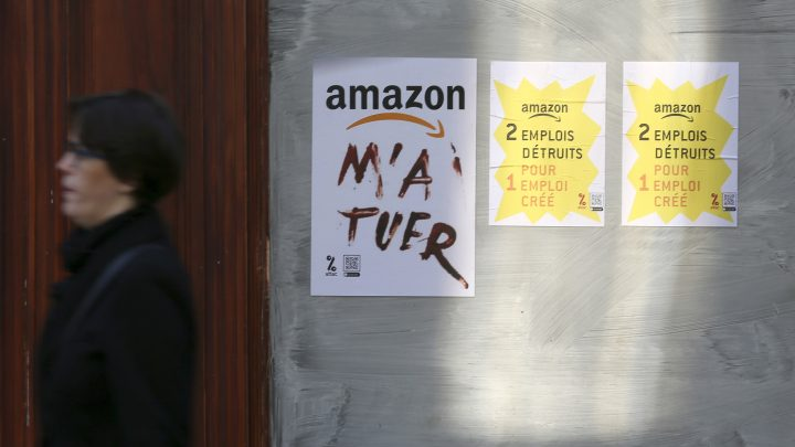 French Activists Are Dumping Old Fridges on the Road to Stop Amazon From Making Deliveries