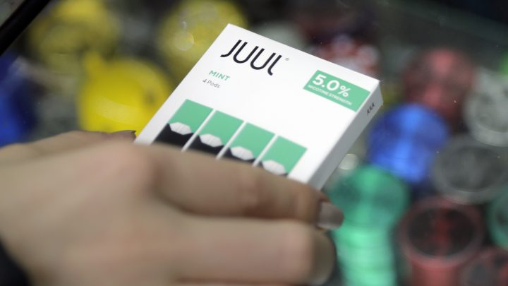 JUUL Is Pulling Its Teen-Friendly Mint Flavor