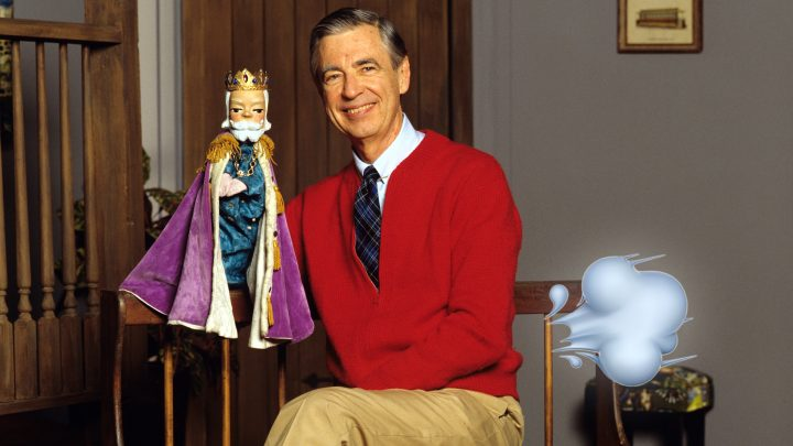 Sweet Old Mister Rogers Thought Ripping Mean Farts Was Hilarious