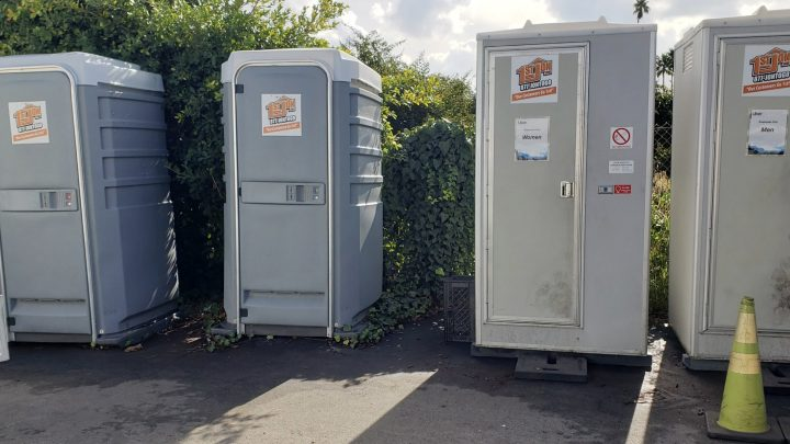 Uber Office Has Nice Port-a-Potties for 'Employees Only,' Inferior Ones for Drivers