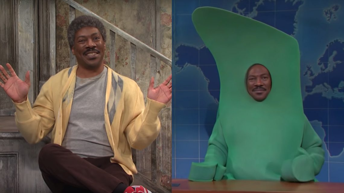 Watch Eddie Murphy Bring His Best Characters Back to 'SNL'