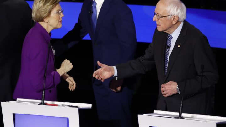 How Twitter's Algorithm Poured Gas on the Bernie-Warren Spat
