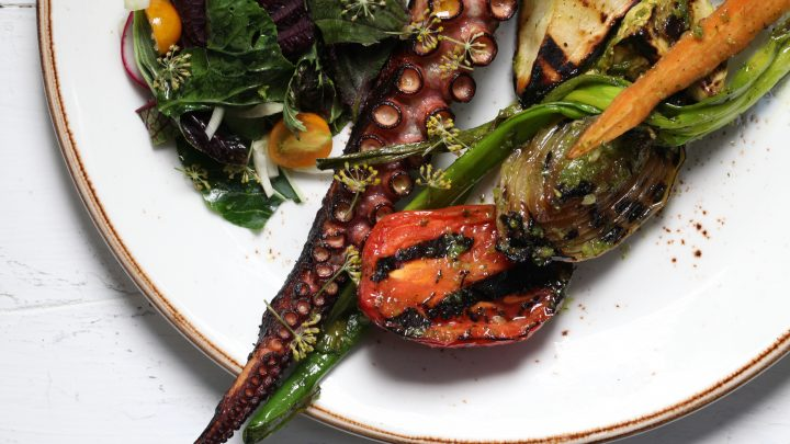 Confit and Grilled Octopus Recipe
