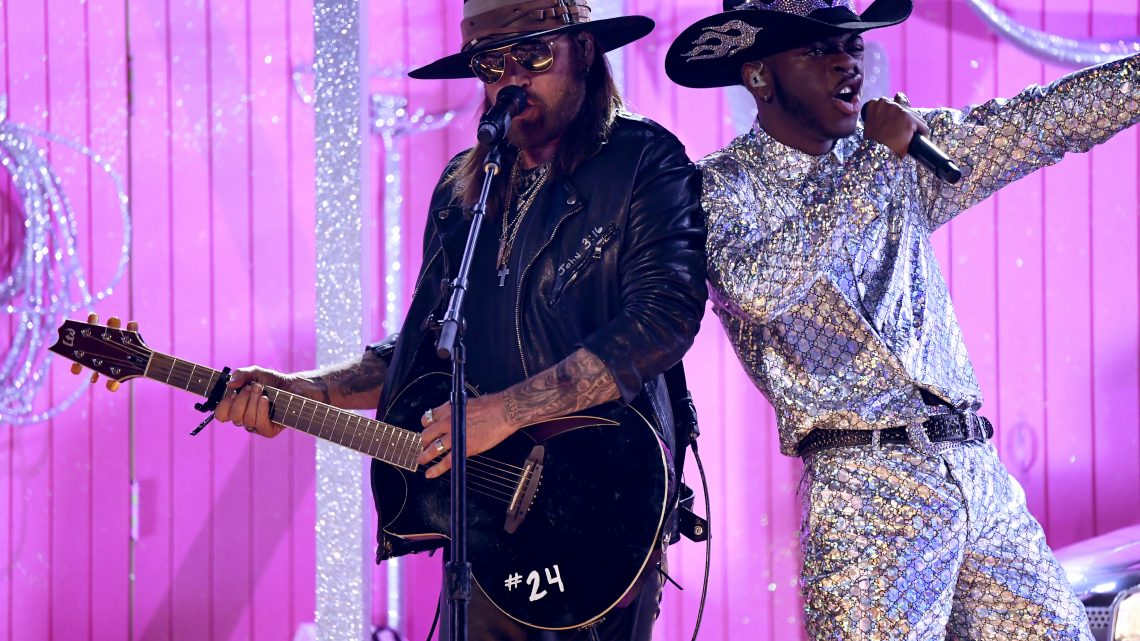 Lil Nas X Ran Every Official 'Old Town Road' Remix at The Grammys