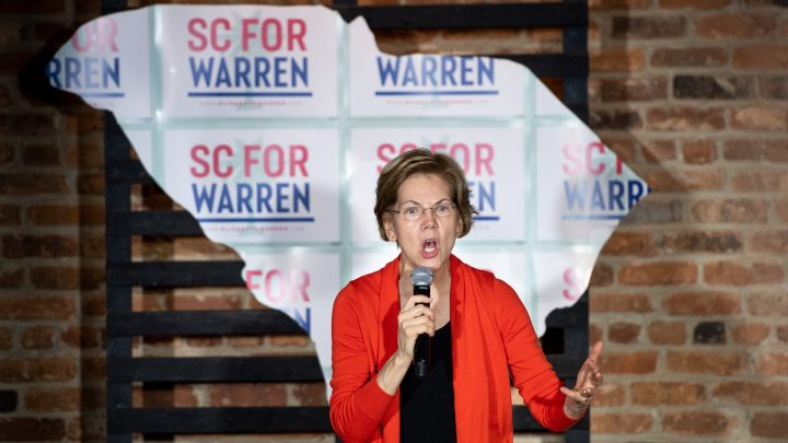 Elizabeth Warren Is Having an Awkward Fight With Her Own Super PAC