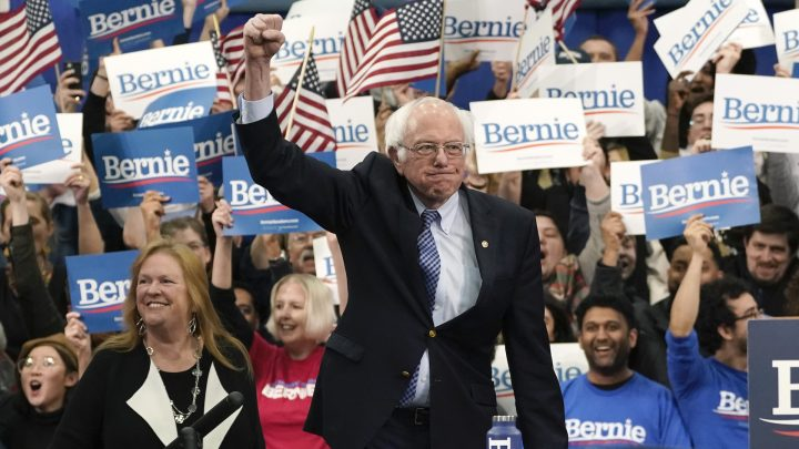 Bernie Sanders Is Officially the 2020 Democratic Frontrunner