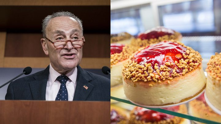 No, Taxpayers Didn't Pay $8,600 to Buy Cheesecake for Chuck Schumer