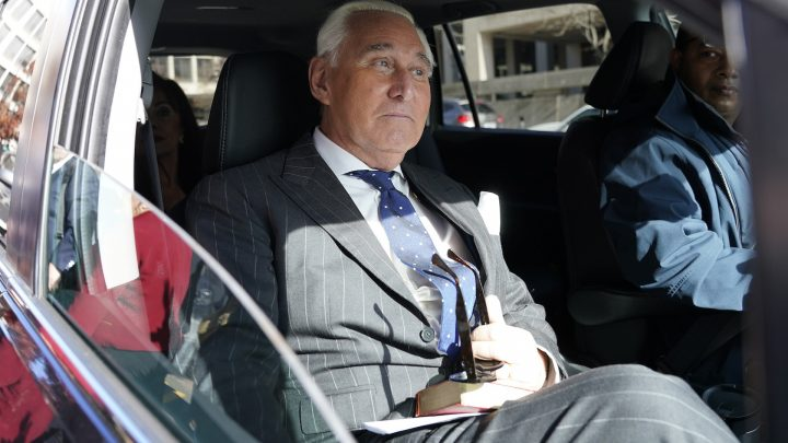 Roger Stone Could Go to Prison for 9 Years