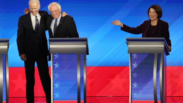 The Democratic Debate Was a Weird Lovefest, Especially After Iowa