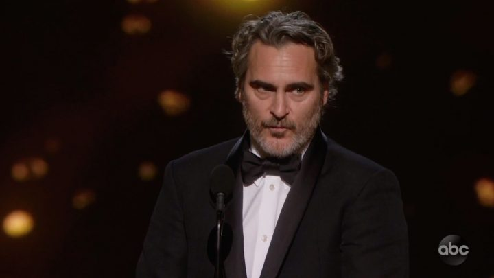 Joaquin Phoenix's Heart Is in the Right Place, but That Speech Was Unhinged