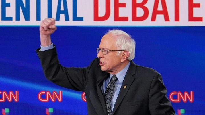 'Go to the YouTube': Bernie and Biden Finally Have It Out Over Social Security Cuts