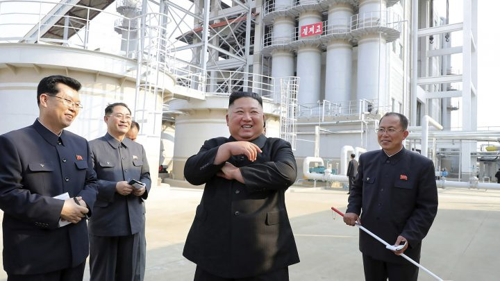 Kim Jong Un Has Suddenly Reappeared — at a Fertilizer Factory