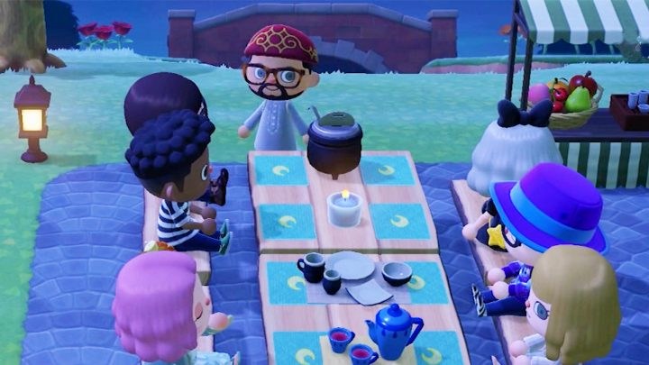 We Joined a Ramadan Celebration in Animal Crossing