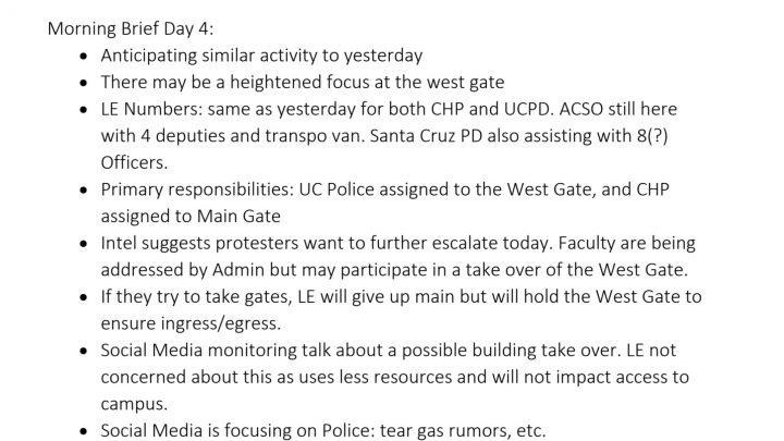 California Police Used Military Surveillance Tech at Grad Student Strike