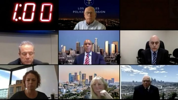 LA Residents Endlessly Roast the LAPD in World's Most Satisfying Zoom Call