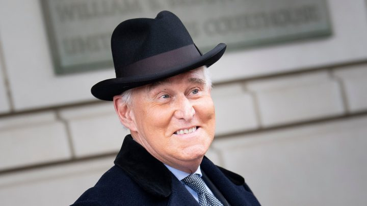 President Trump Just Commuted Roger Stone's 3 Year Prison Sentence