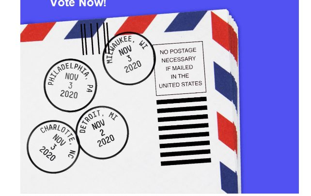 An Easy Way to Solve the Mail-In Vote Dilemma