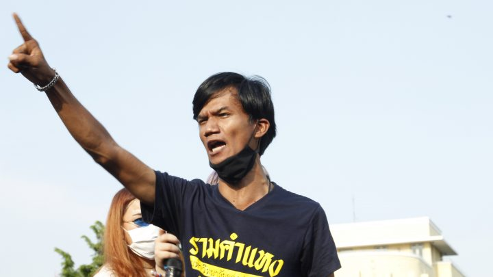 Meet the 'Hero' Thai Activist at Forefront of Historic Pro-Democracy Protests