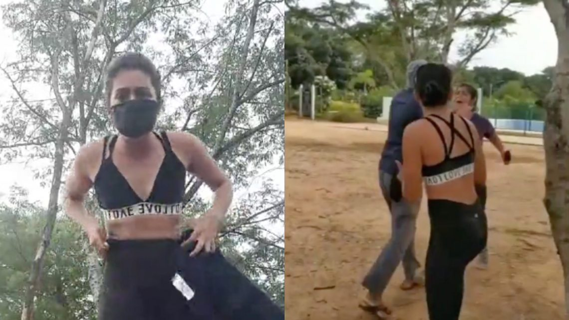 Politician Attacks Indian Actress for Wearing Sports Bra While Working Out in a Park