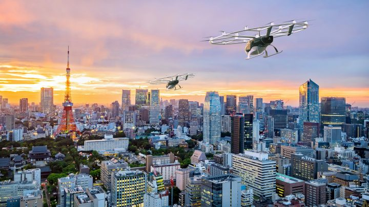 Japan Could Have Flying Taxis by 2023