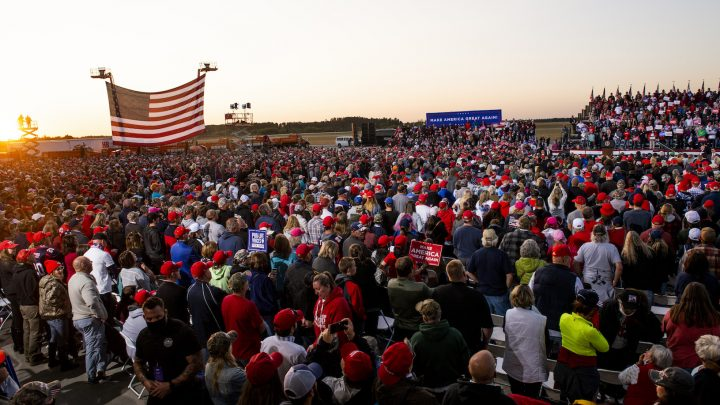 A Trump Rally in Minnesota Probably Spread COVID, State Health Dept. Says