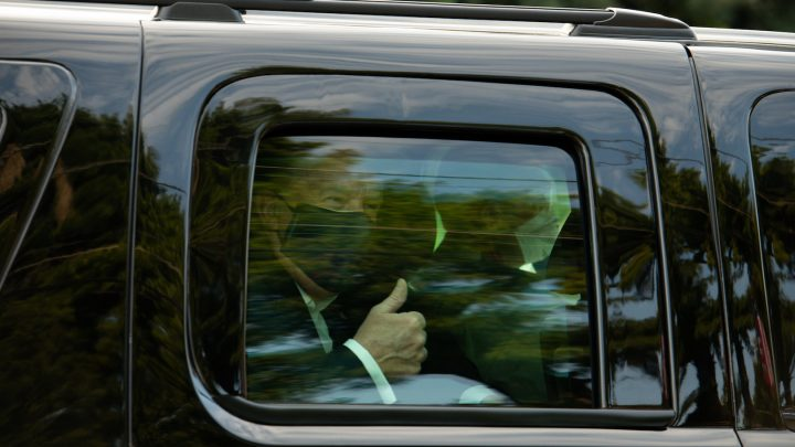 Trump Just Exposed Secret Service to COVID-19 to Do a Drive-By for MAGA Supporters