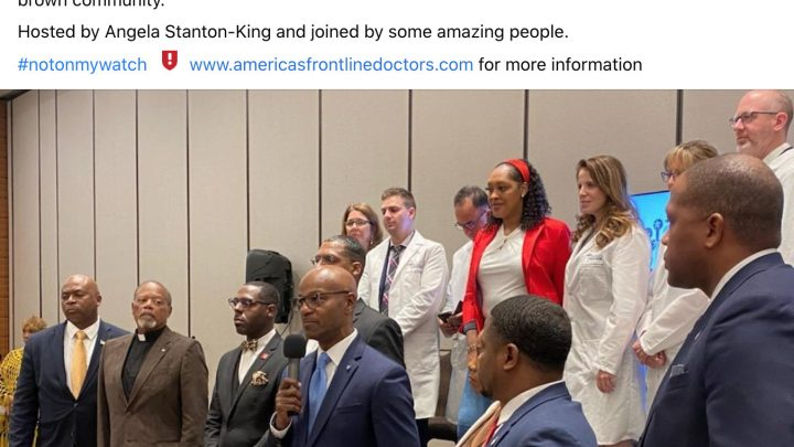 Trumps's Favorite Doctors Are Pushing a Conspiracy to Stop Black People From Getting the COVID Vaccine