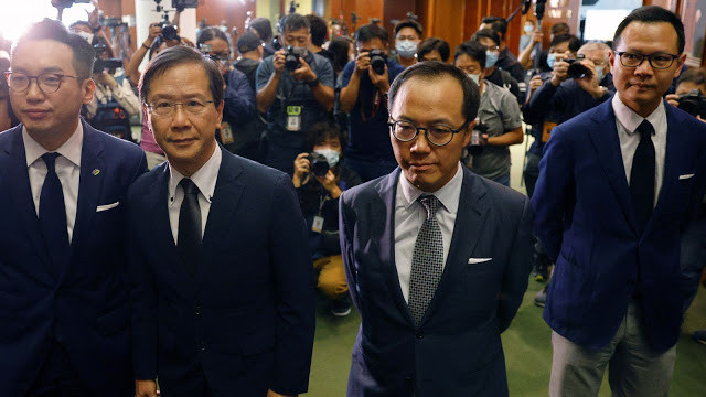 China Uproots Hong Kong's US-Backed Opposition