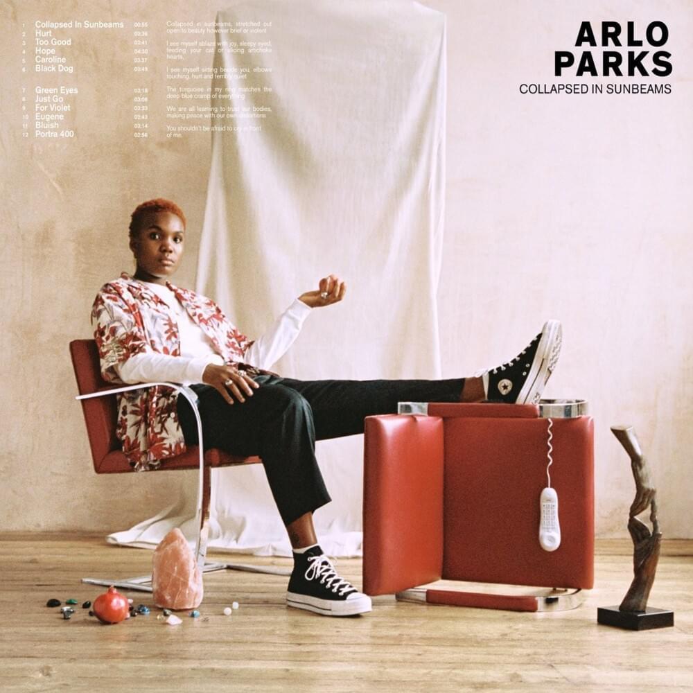 Arlo Parks, Collapsed In Sunbeams (January 29) .jpg