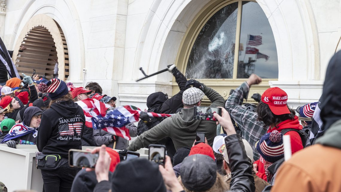 Will Biden Be Able to Hold a Safe Inauguration Right Where Mobs Overran the Capitol?